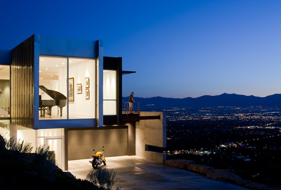 The Architecture AList Vol I - Modern house on cliff
