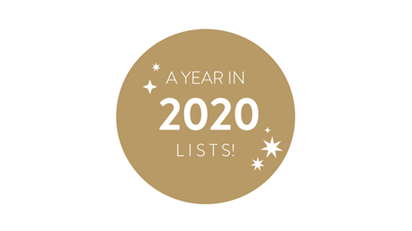 2020 | A Year in Lists